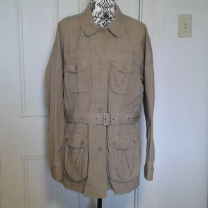 L.L.Bean jacket utility field style 100% cotton